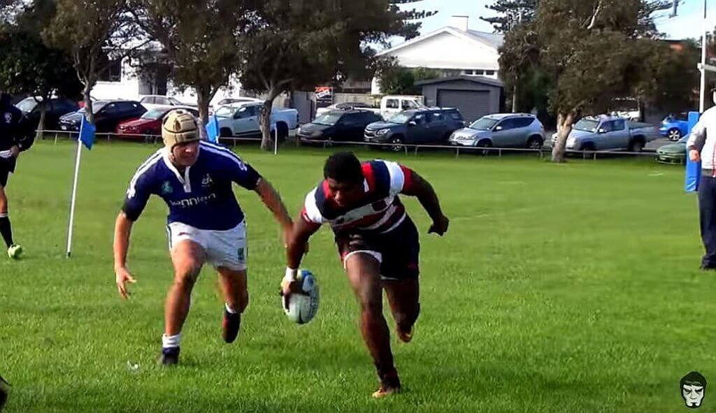 WATCH: Waisake Naholo's kid brother Kini scores 6 tries in one half of rugby