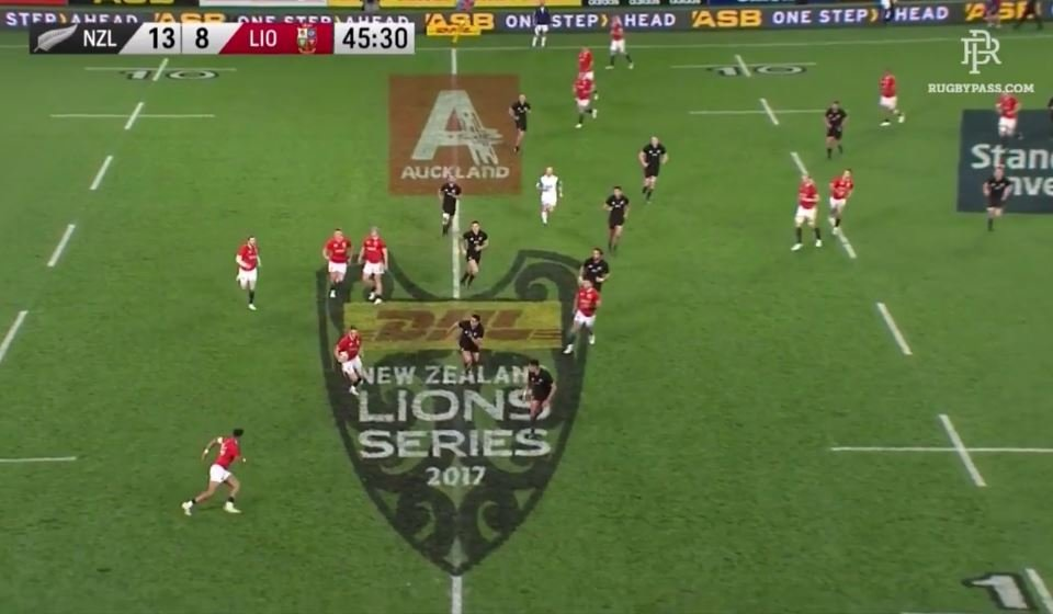 WATCH: Anthony Watson easily beats 6 All Black defenders on mazy run