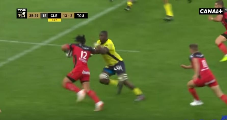 Ma'a Nonu's immense carrying performance in the Top 14 final