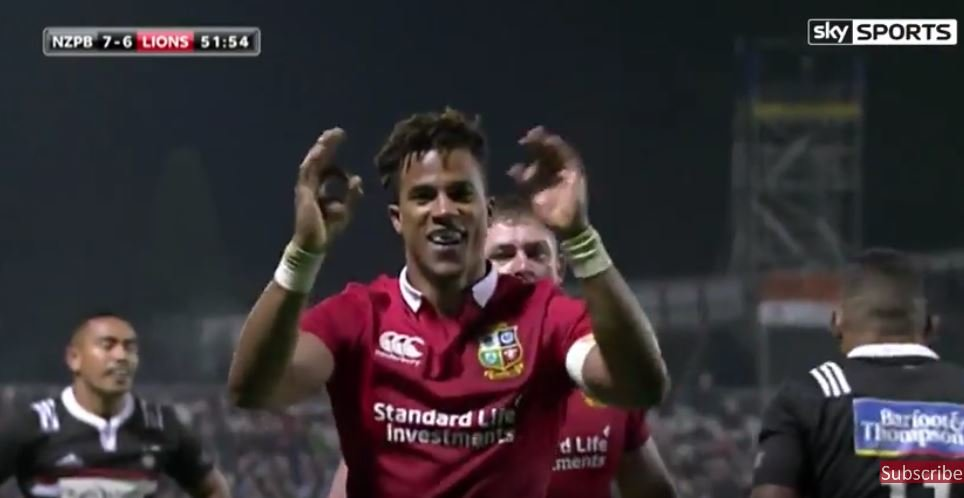 WATCH: Anthony Watson scores the first try of Lions tour