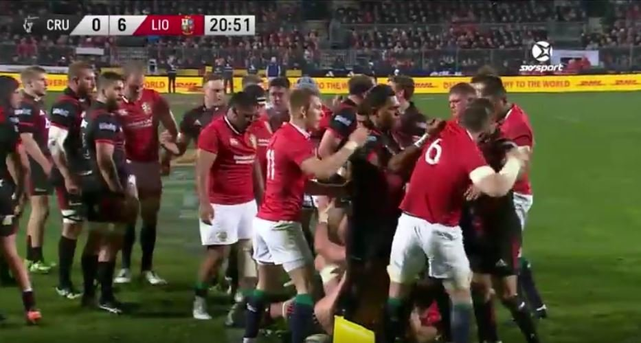 HIGHLIGHTS: Crusaders vs the British and Irish Lions