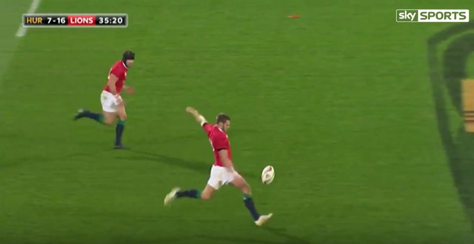 George North dots down against the Canes after some slick handling