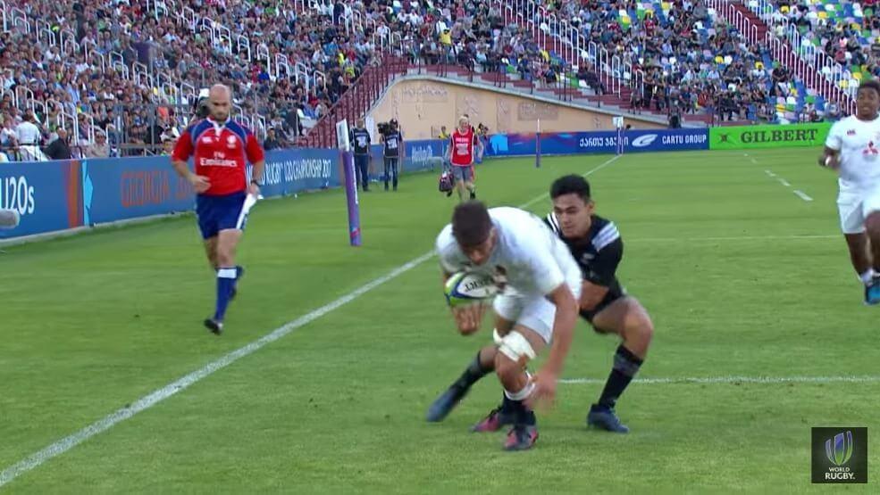 U20 FINAL HIGHLIGHTS: New Zealand vs England