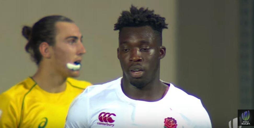 WATCH: England U20s Gabriel Ibitoye scores try that looked impossible even on TMO