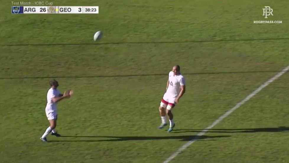 Watch the 80m try that proves Georgia's attacking game is evolving at a frightening rate