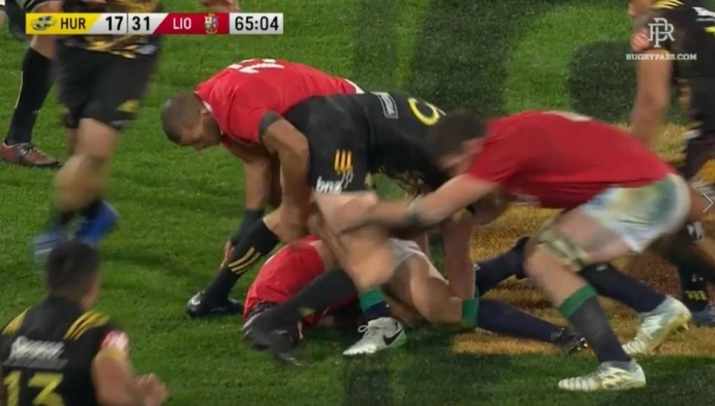 TMO decision sees Iain Henderson yellow carded, gifting Canes unlikely draw with Lions