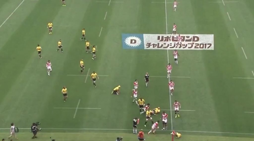 Japan score superb 50m try off a quick lineout