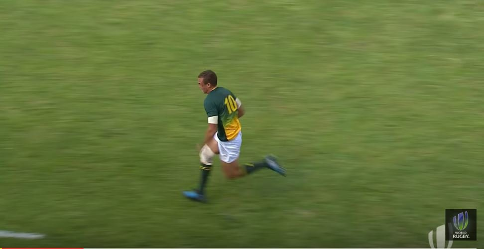 Baby Boks exploit bizarre loophole that allows them to score 15 point try