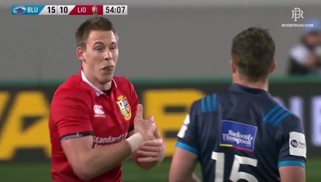 VIDEO: Liam Williams proves you can achieve anything if you're determined enough