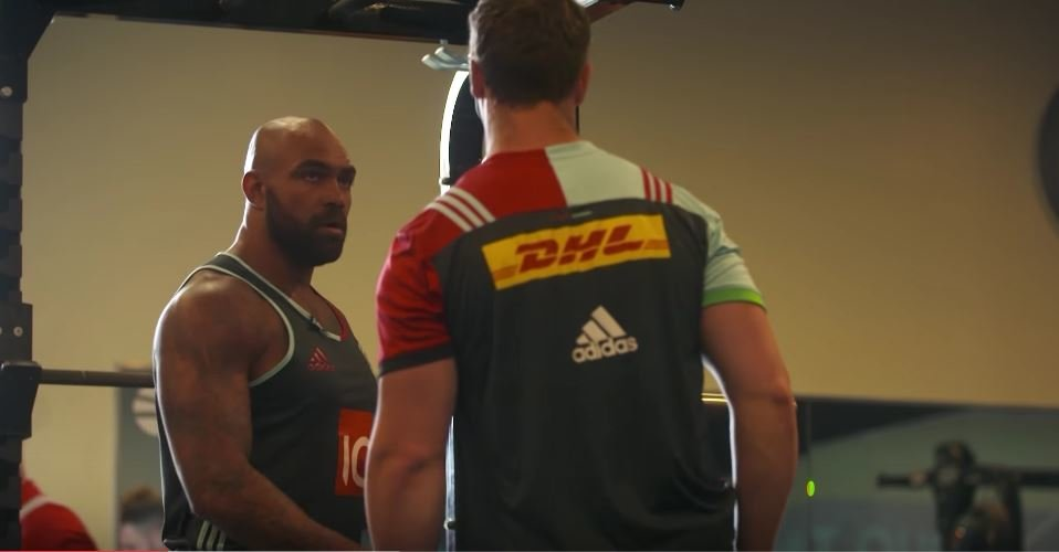 MIC'D UP: Inside a Harlequins weights training session