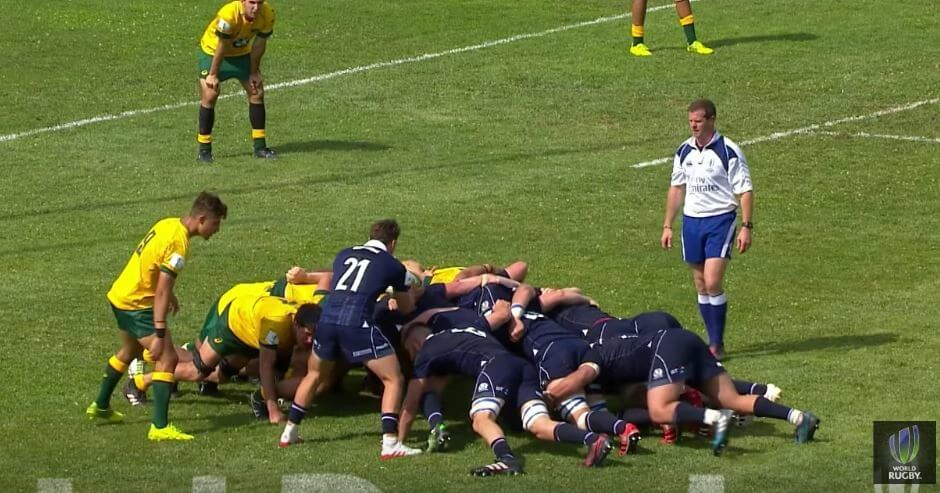Scotland U20s seal double over Aussie's with controversial try