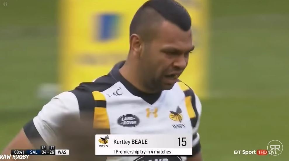 RAW RUGBY: The ultimate Kurtley Beale supercut has landed