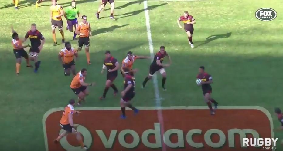 WATCH: Stormers prodigy Damian Willemse gives a glimpse of that talent