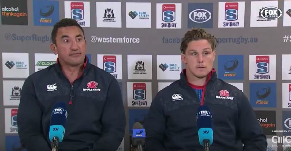 WATCH: Gibson and Hooper's excruciating presser after ending season with just 4 wins
