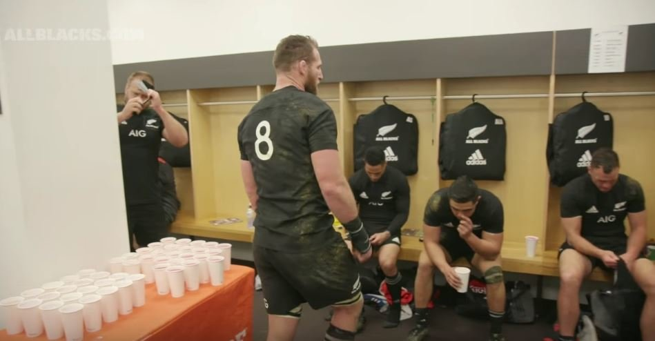 For once the All Black 'In the Sheds' video is an exercise in utter misery