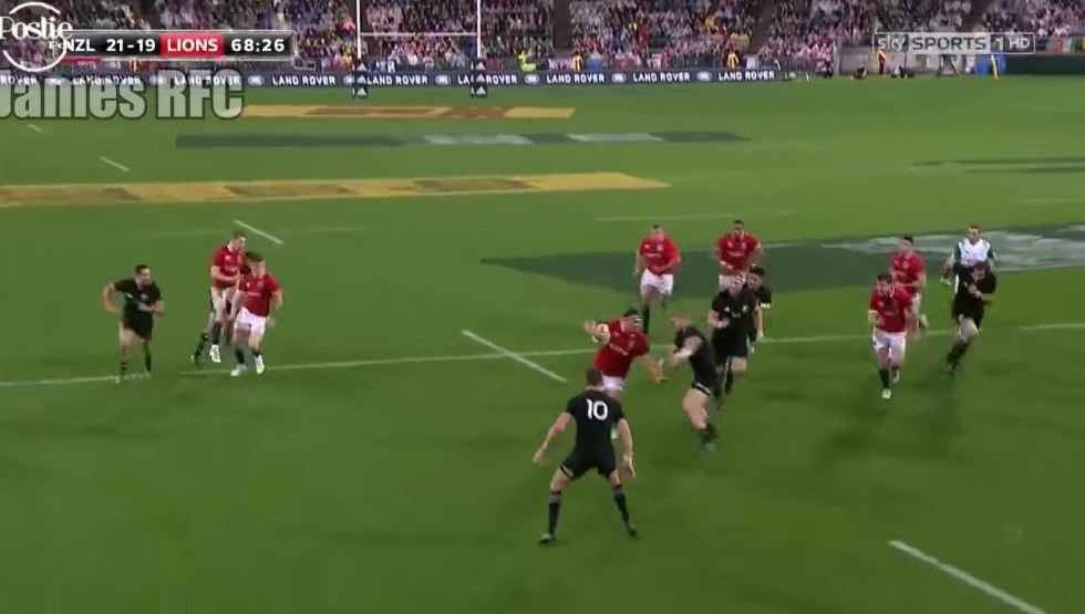 WATCH: Jamie George's massive 80 minute shift in the 2nd Test