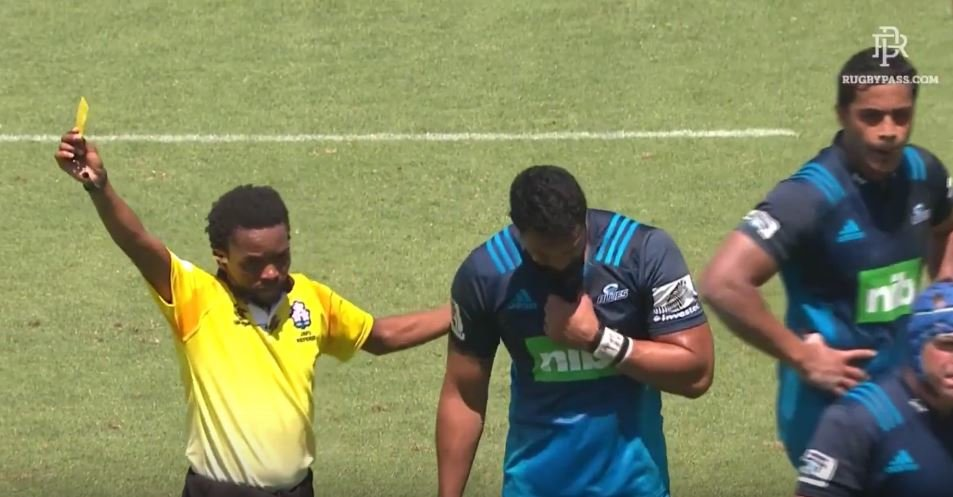 VIDEO: Fresh card shows Jerome Kaino hasn't learned a thing since his Lions sin binning