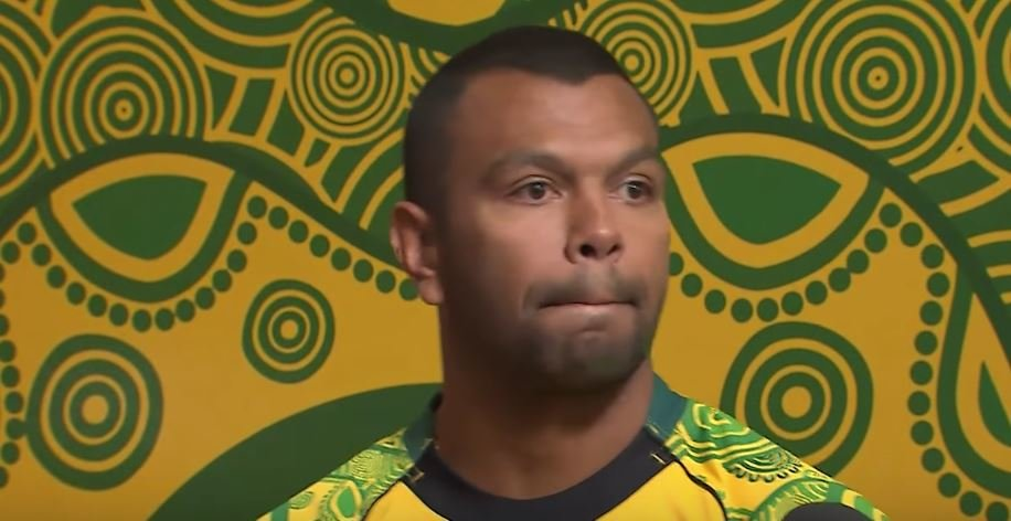 Kurtley Beales gets choked up when questioned about new Indigenous jersey