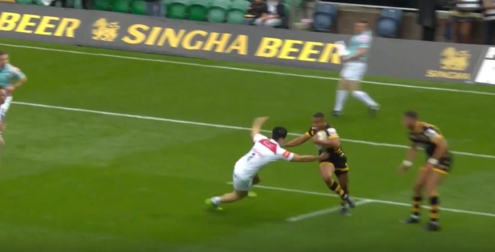 WATCH: So this is what Olympian Marcus Watson can do to 15s players in a 7s game