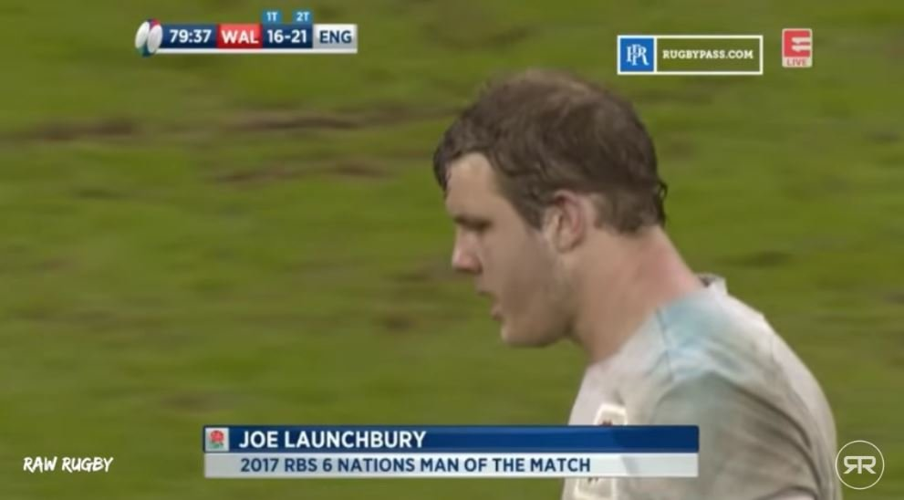 RAW RUGBY: New Joe Launchbury supercut proves he should have been a Lion