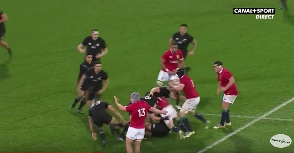 FOOTAGE: The so called red card incident Sean O'Brien has been cited for