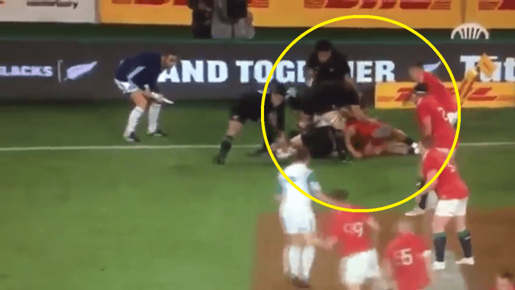 VIDEO: O'Brien cited yet Sam Cane gets away with THIS in Eden Park?