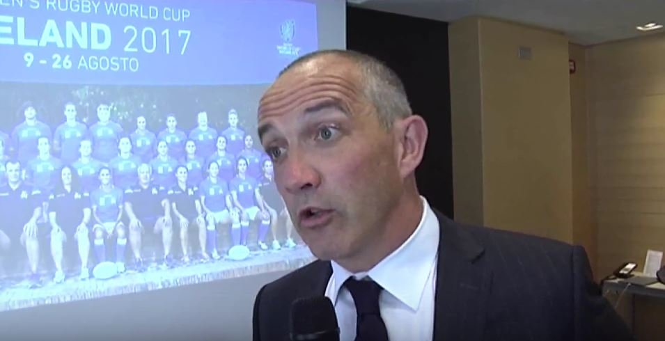 VIDEO: After little over a year Conor O'Shea is speaking fluent Italian