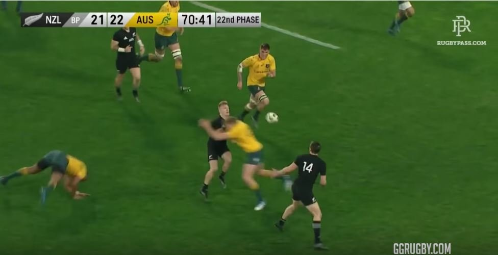 All 22 phases of Ben Smith's All Black wonder try