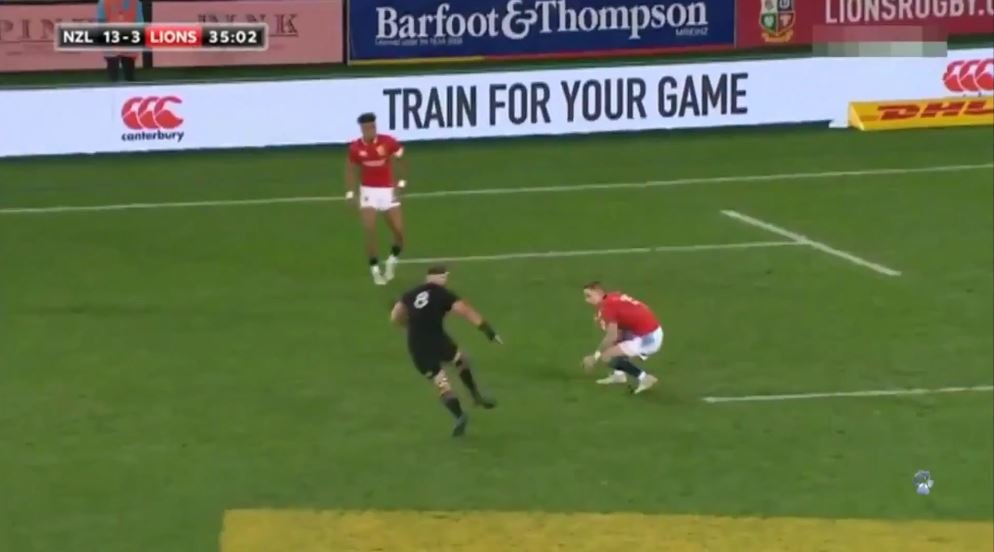 Alternative commentary - The Lions' 90m 1st try against the All Blacks