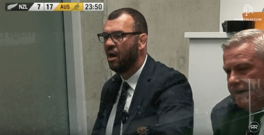 VIDEO: Michael Cheika has to be one of the most passionate coaches in Rugby