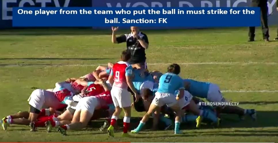 VIDEO: Live action footage shows what a farce new scrum feeds will be