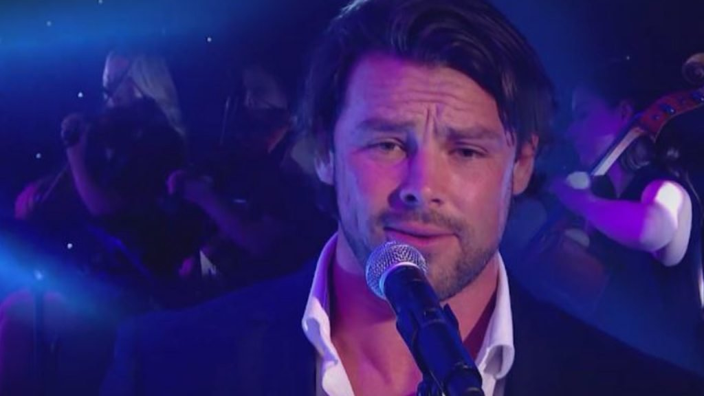 Watch: Ben Foden sings 'John Legend - All of Me' on A League of Their Own
