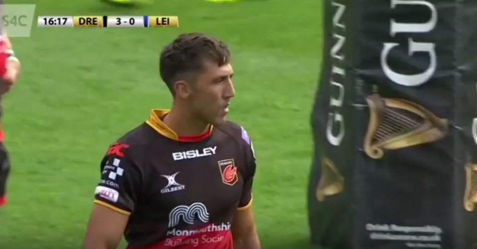 VIDEO: Gavin Henson gets welcomed back to the Pro14 by Isa Necewa