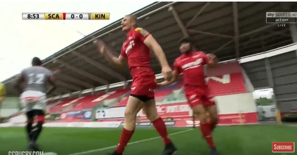 WATCH: Jonny McNicol's well taken finish against the Southern Kings
