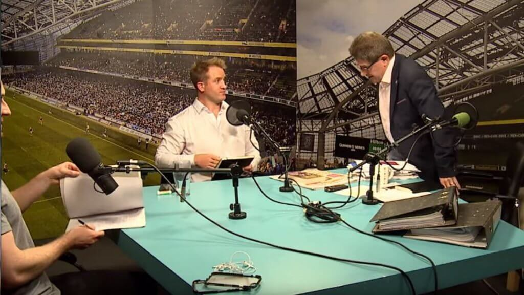 Watch: Luke Fitzgerald and Paul Kimmage discuss doping in rugby in explosive debate
