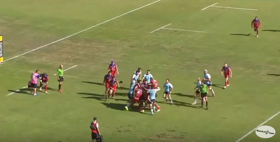 FOOTAGE: Sickening pile-driver leads to full on mass brawl in the ProD2