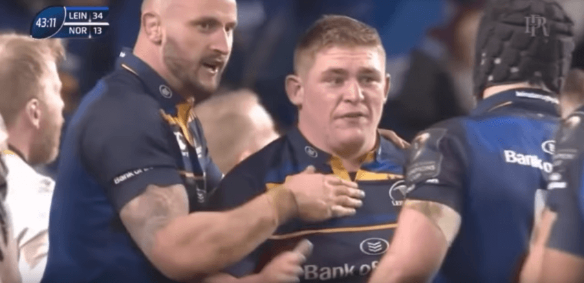 "RAW RUGBY: Tadhg Furlong goes full ""BULL MODE"" in new video"