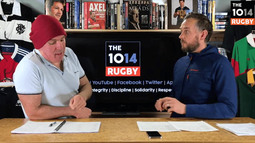 VIDEO: The 1014 Rugby give their excellent analysis of Round 4 of the Rugby Championship