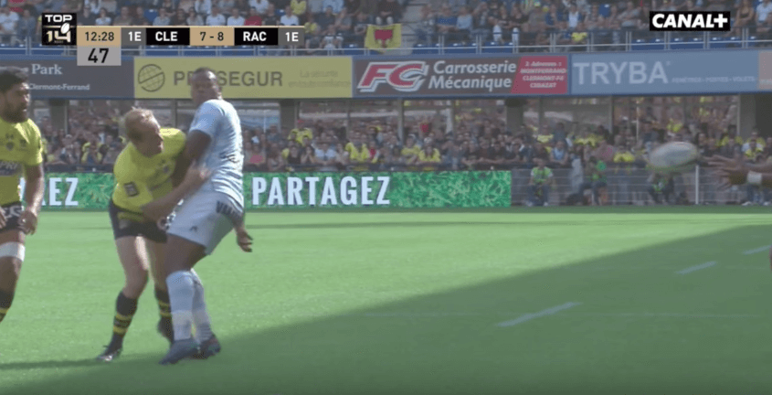 WATCH: Vakatawa strong performance against Clermont