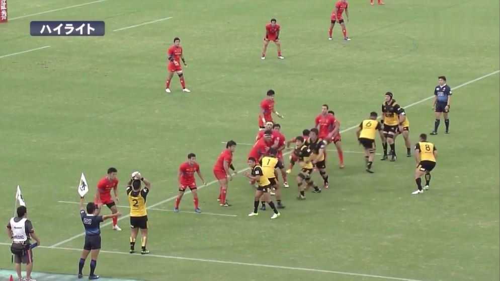WATCH: Suntory may have pulled off the perfect 'Red Sea' lineout move