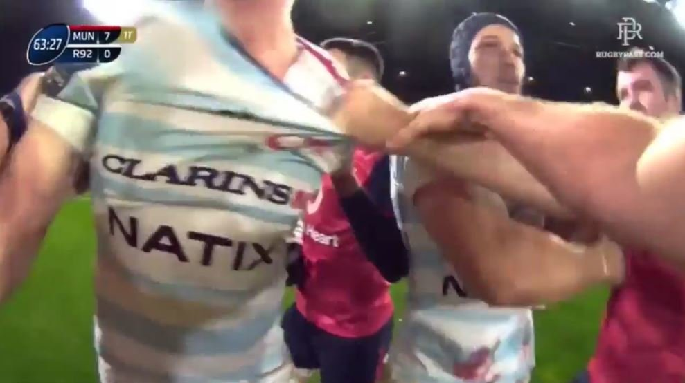 WARRIOR: JP Doyle physically break-ups scuffle like only a real man can