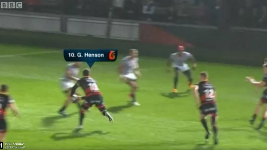 WATCH: Gavin Henson rolling back the years at Rodney Parade