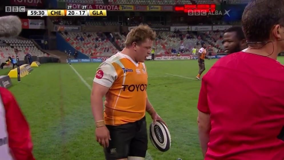 VIDEO: Former Scotland prop turned BBC commentator tears into George Clancy's reffing like a rabid sheepdog