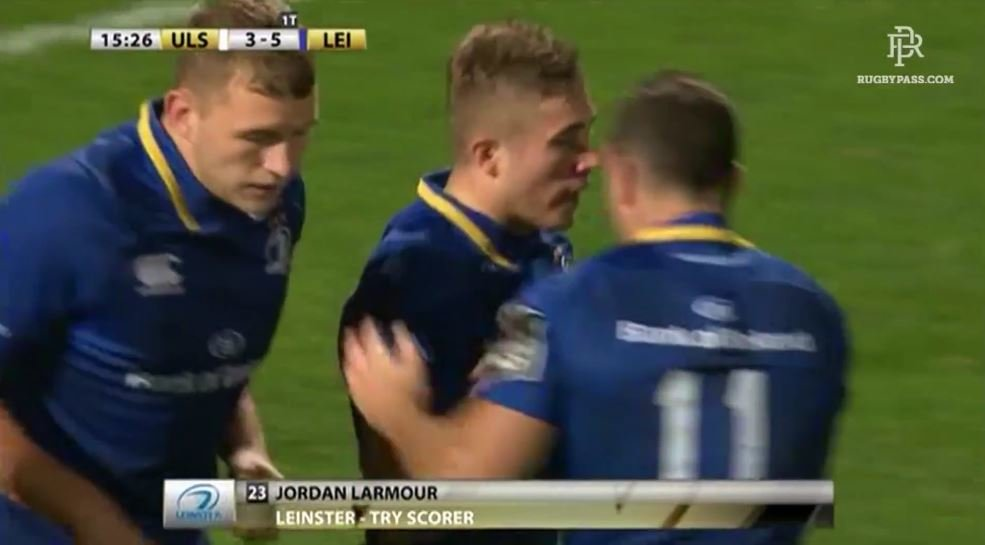 VIDEO: Wing prospect Jordan Lamour shows why Leinster are so excited about him