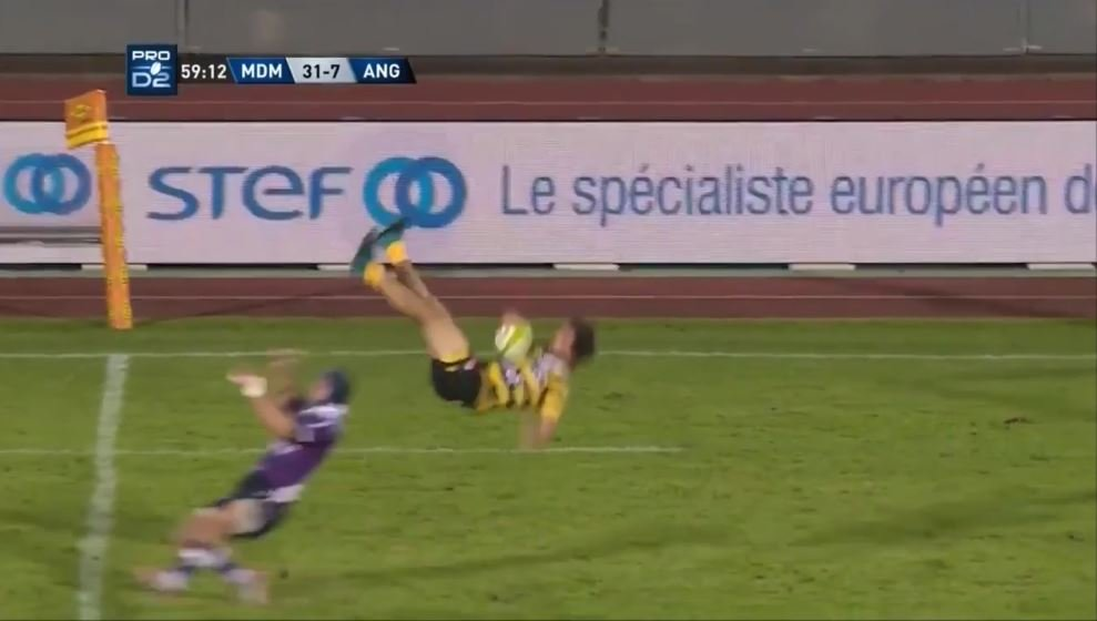 FOOTAGE: One of the most horrific red card air shots ever occurred in the ProD2 this weekend