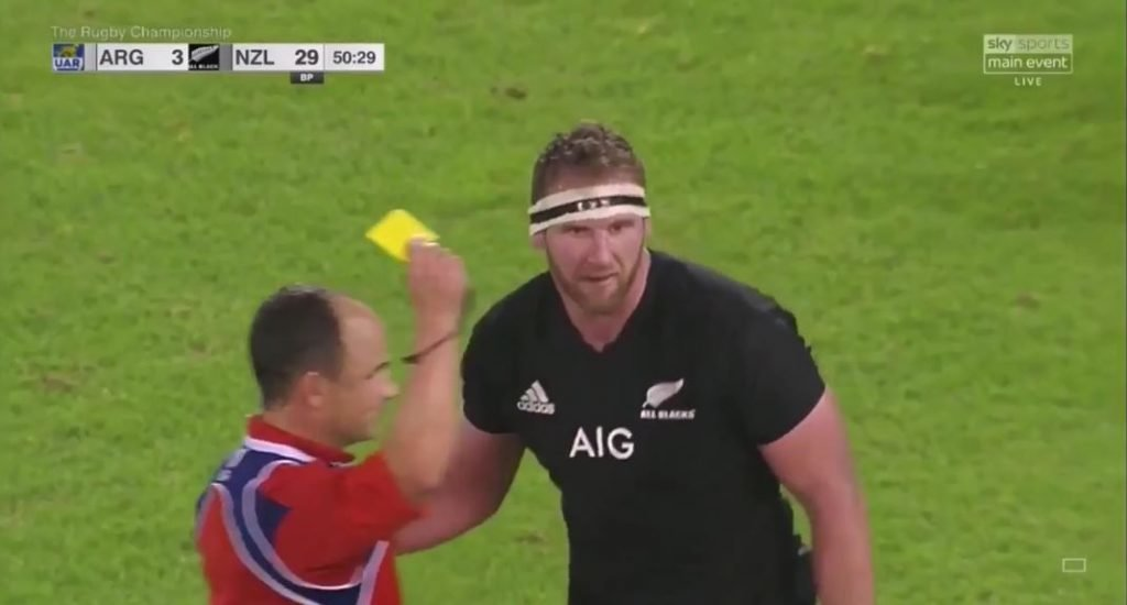 VIDEO: All Black captain Kieran Read should have been red carded for sickening head shot