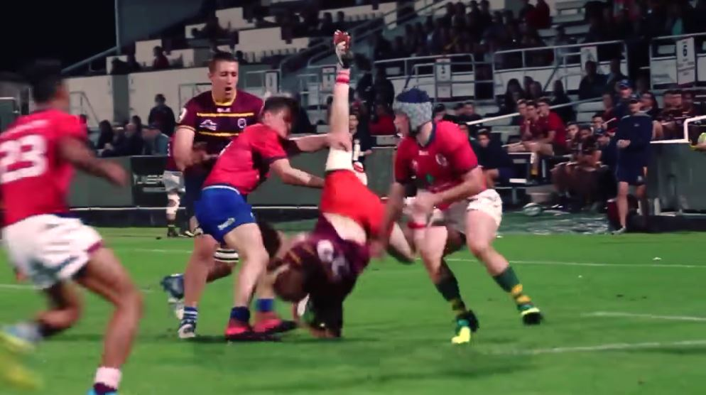 Shaun Anderson - First XV Schoolboy Rugby Highlights