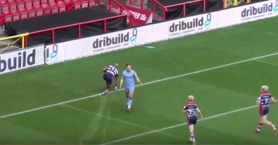 WATCH: Tom Varndell scores hattrick, including a peach from an Ian Madigan crossfield kick