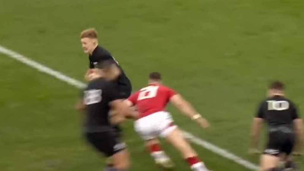 WATCH: Damian McKenzie's best defensive display for the All Blacks?