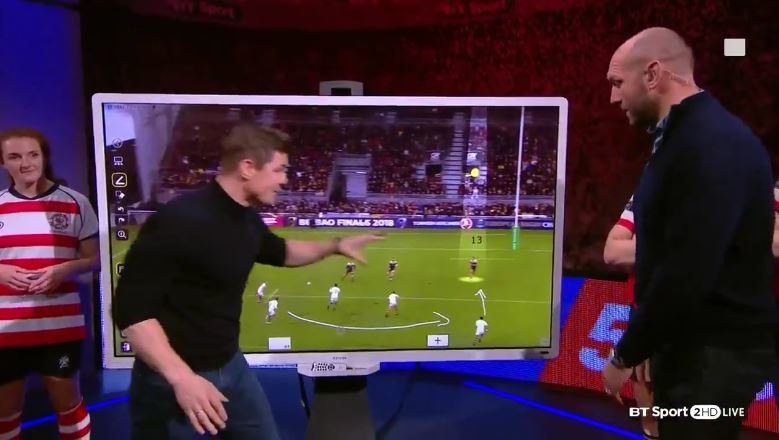 Want to play 13? This Brian O'Driscoll video tutorial is must watch stuff